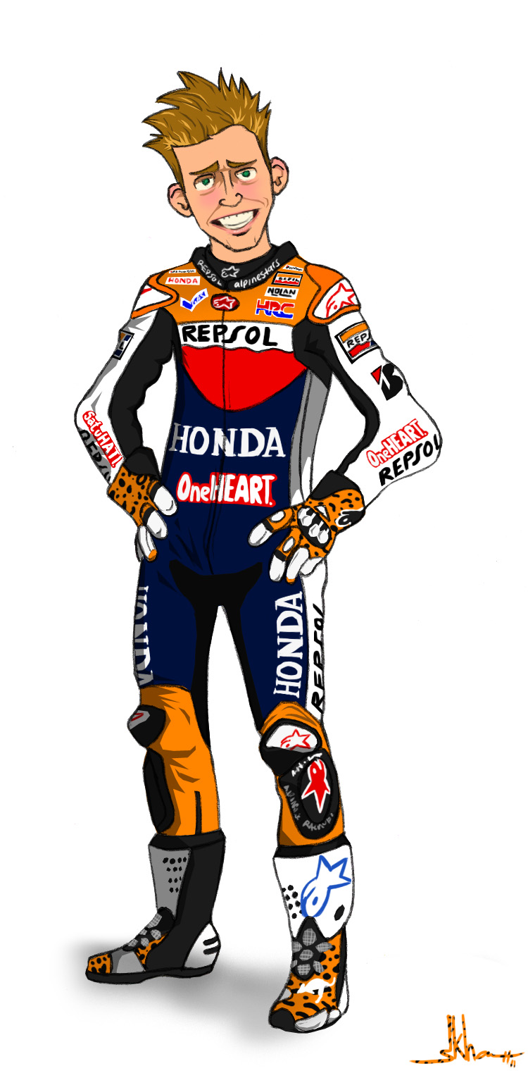 Casey Stoner | Home is where the HARD DISK is