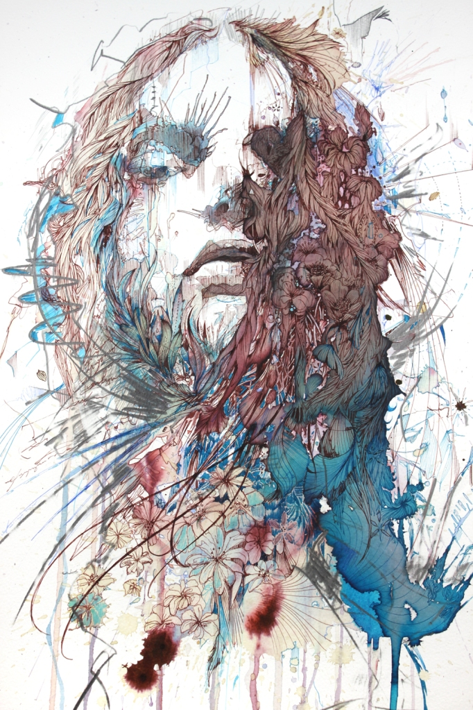 beautiful-decay by Carne Griffiths