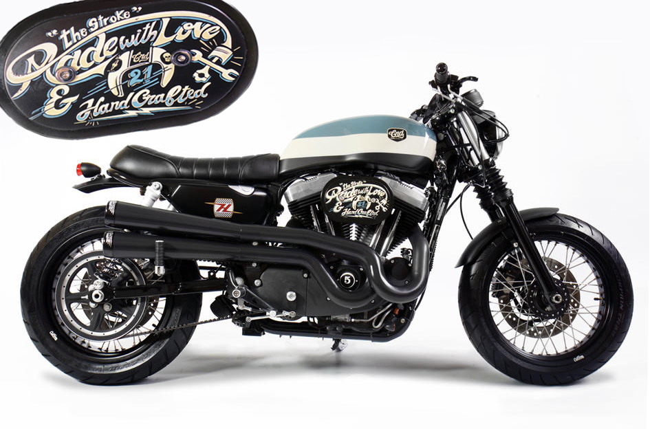 H-D XL 1200 the stroke by CRD