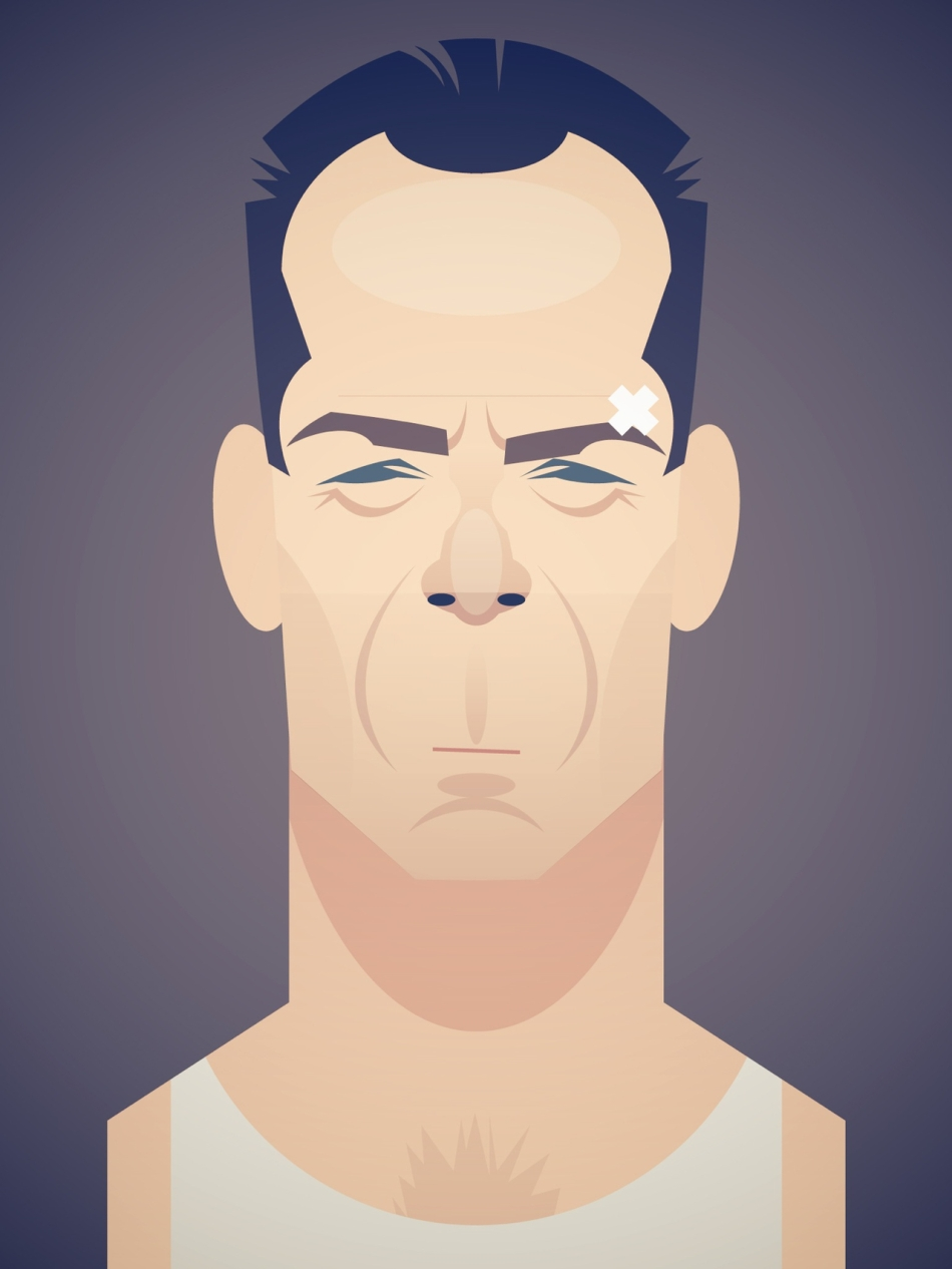 John McClane by Stanley Chow