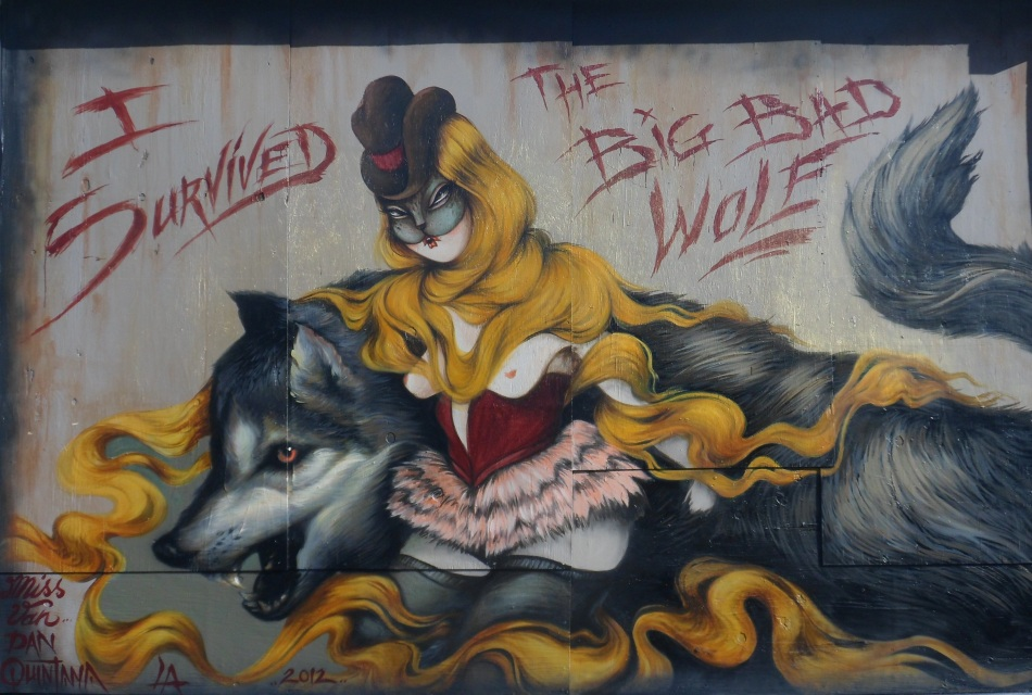 I Survived The Big Bad Wolf by Miss Van and D.Quintana