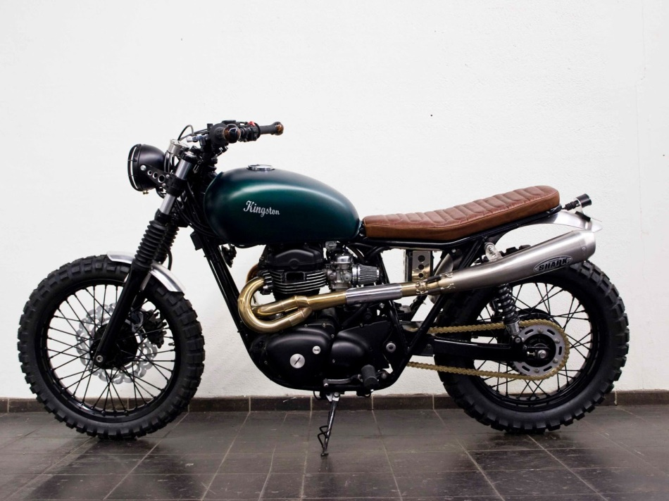 Kawasaki W650 by Kingston Custom