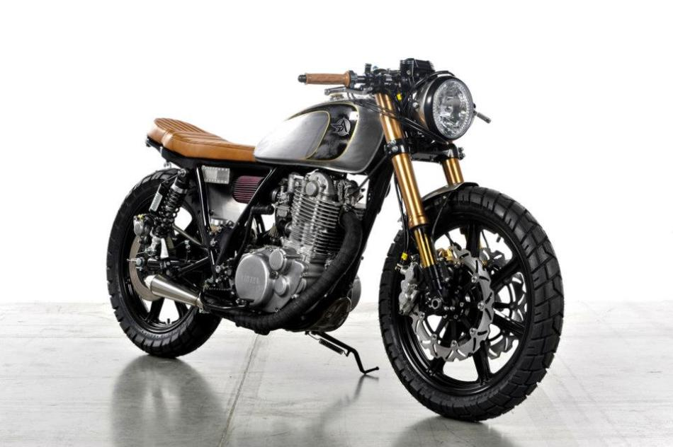 SR 500 Bruto by Analog Motorcycles