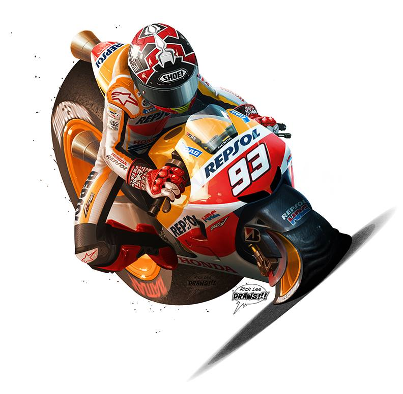 Marquez by Rich Lee