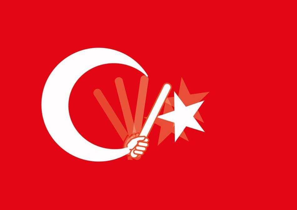 Turska zastava by Pero Mrnarević
