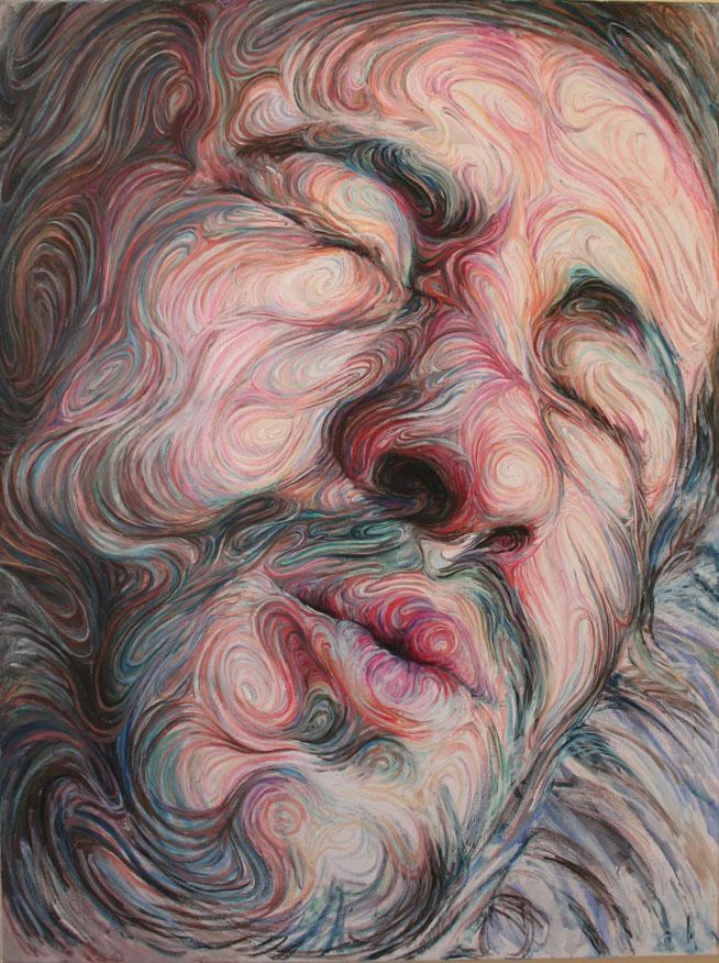 αυτοπροσωπογραφία(2) by Nikos Gyftakis