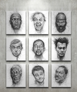 faces all by Vince Low