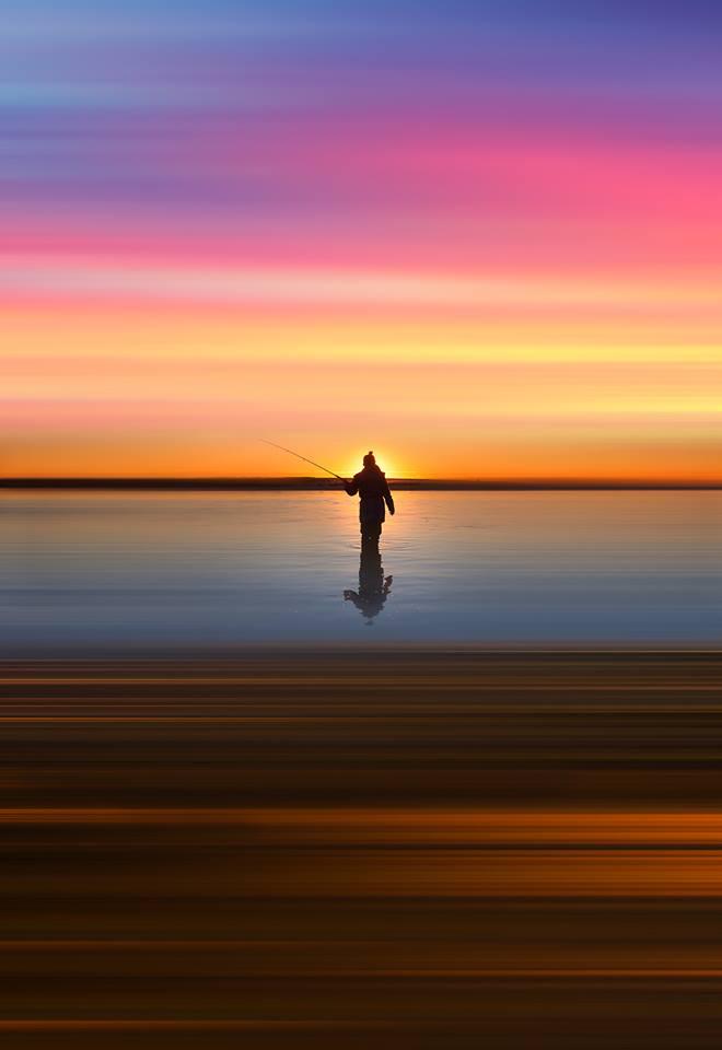 fishing man by Goff Kitsawad