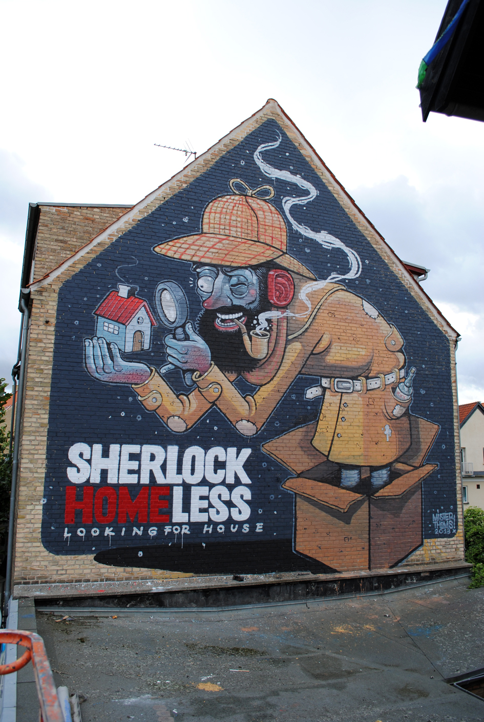 Sherlock Homeless by Mr Thoms