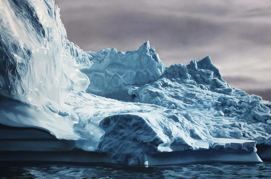 Greenland  63 by Zaria Forman