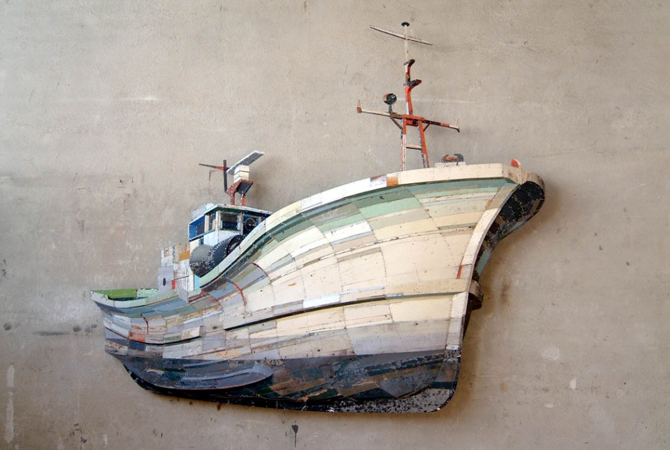 Fishing Trawler by Ron Van Der Ende 2004