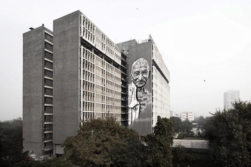 Gandhi  by Ecb