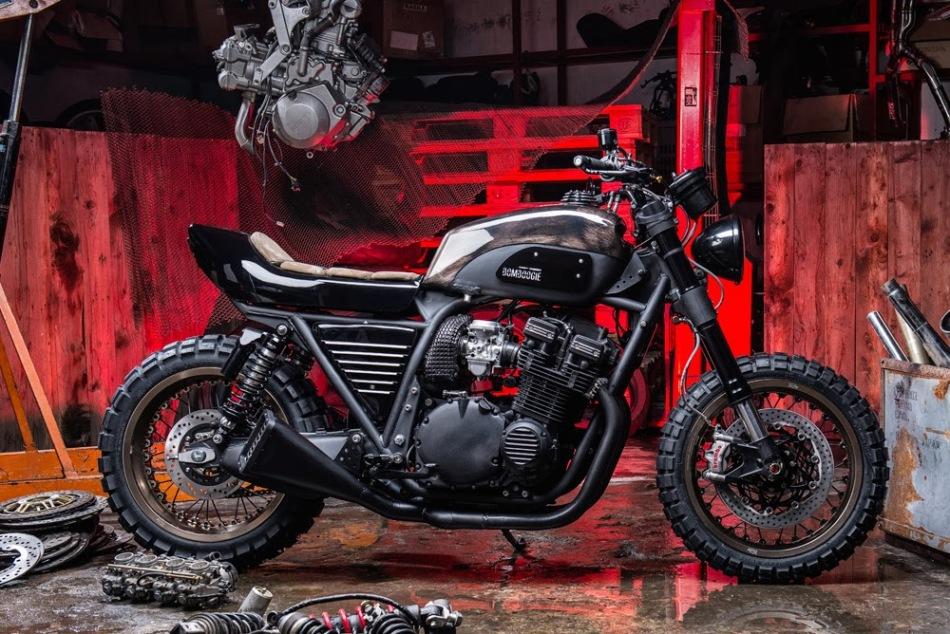 Bomboogie Suzuki GSX1100 by Officine GP design