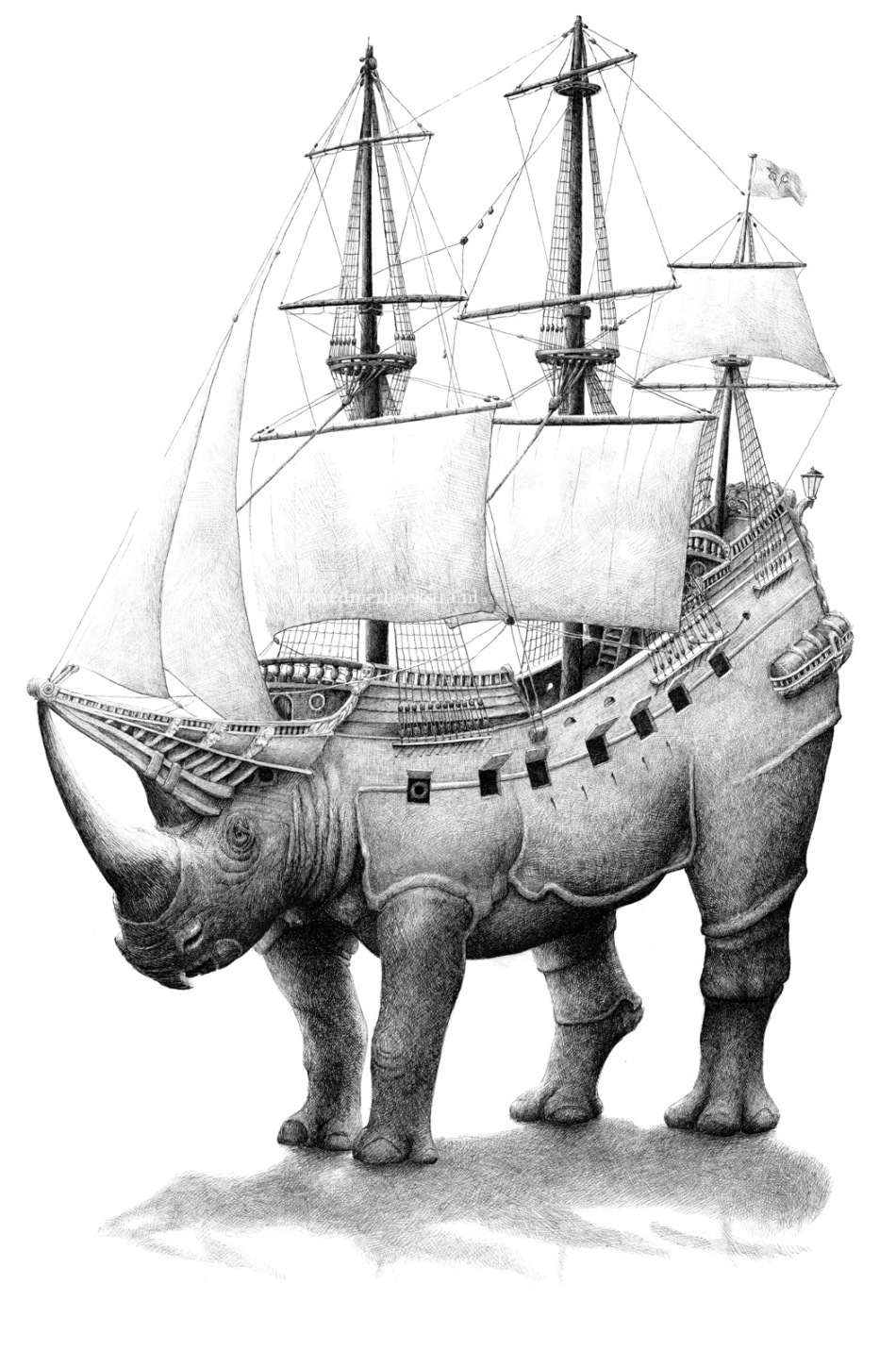 rhinoship by Redmer Hoekstra