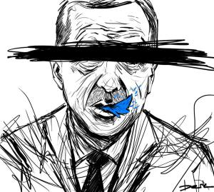 censorship by Berk Ozturk