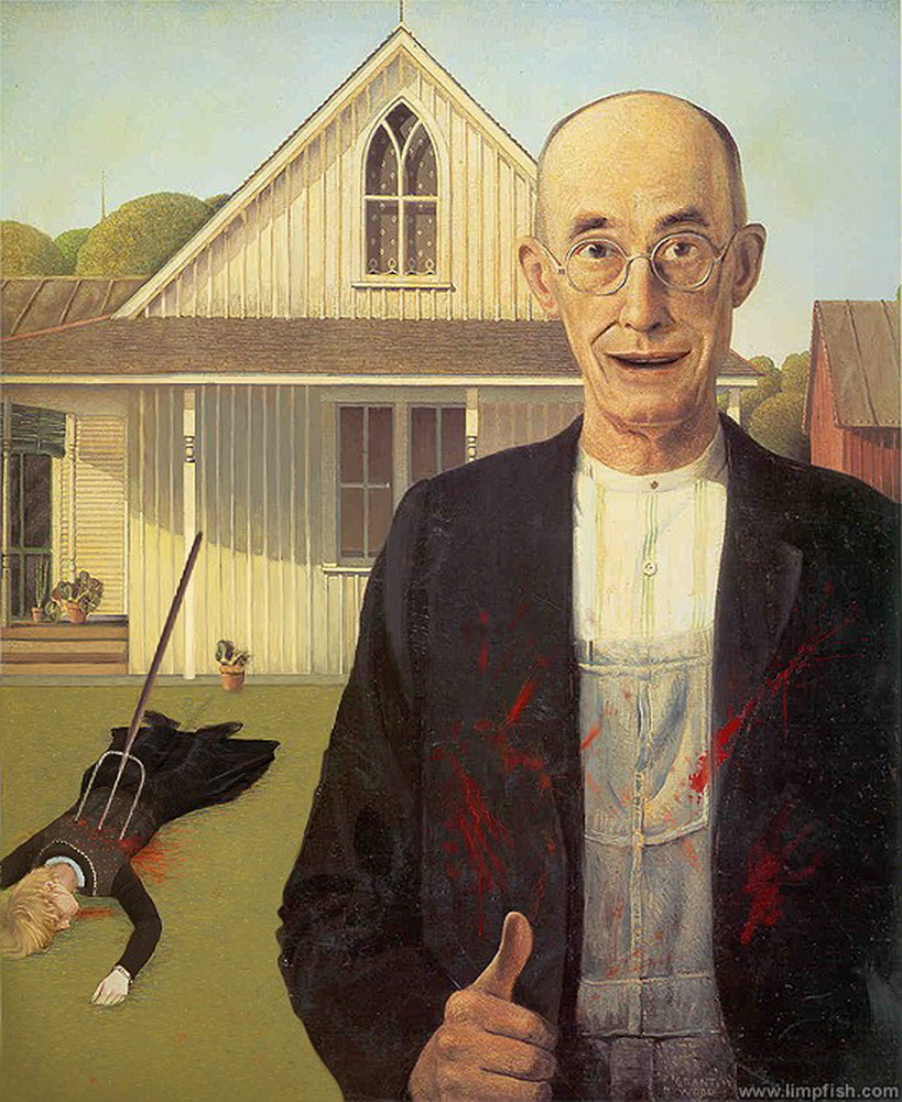 American Gothic by David Barton