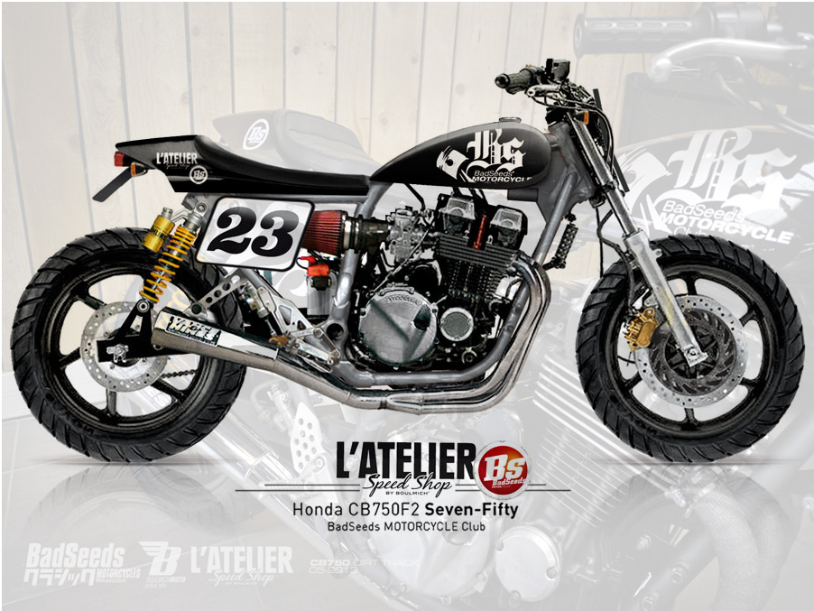 Badseeds Dirttrack Honda CB 750