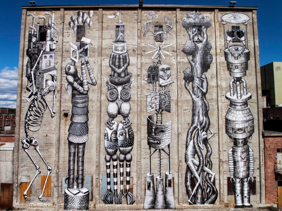 Totems by Phlegm