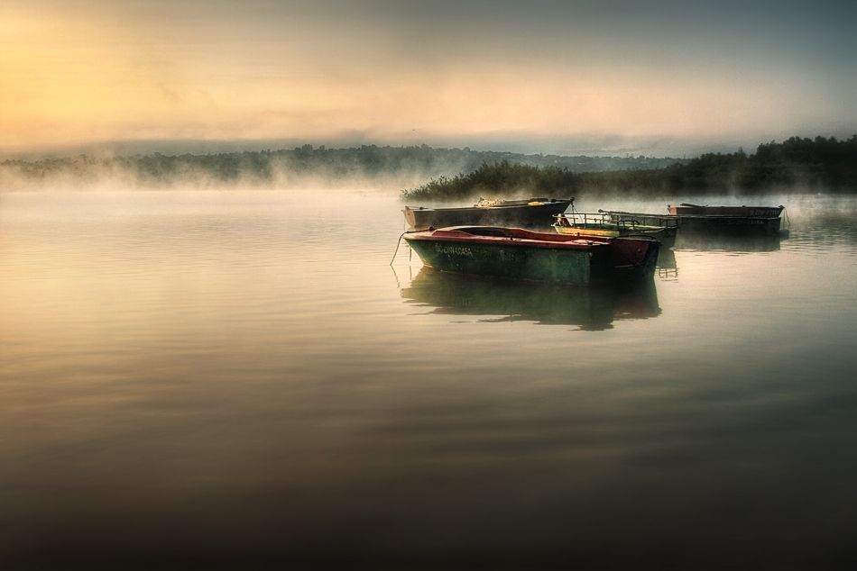 morning mist by Boguslaw Strempel