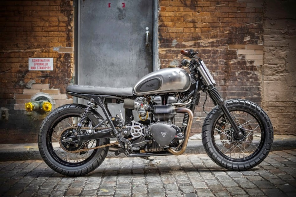 NYC unrefined Bonneville by Francis Choung