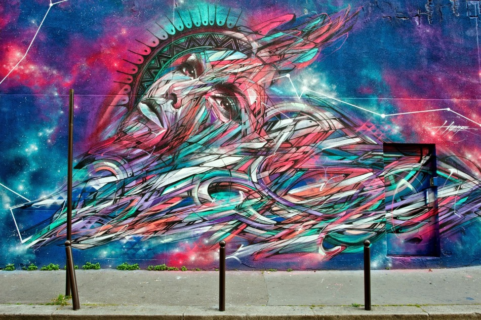 Un rêve à Paris by Hopare