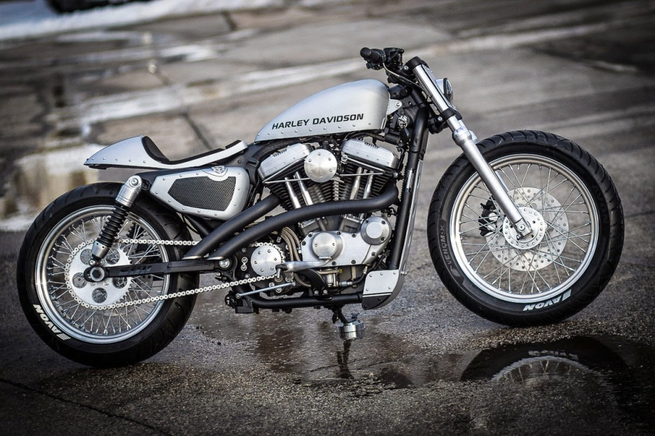 Harley Nightster Traffic by Bull Cycles