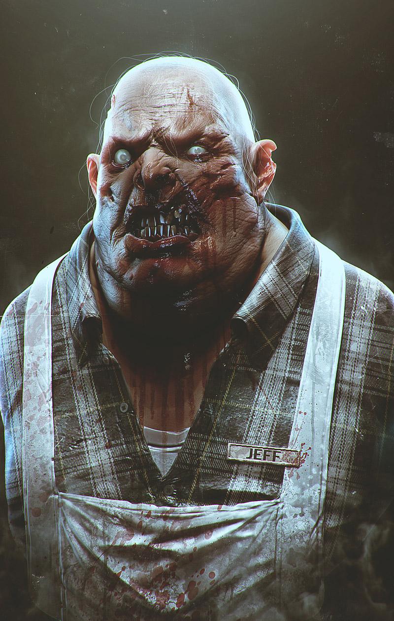 Jeff the zombie by streetX222