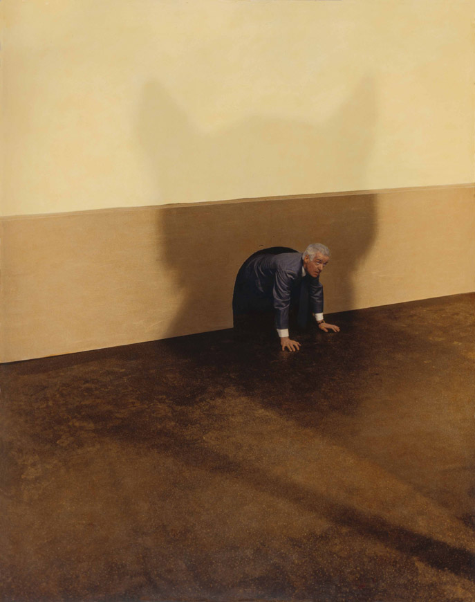 Untitled (Cat troubles) by Teun Hocks