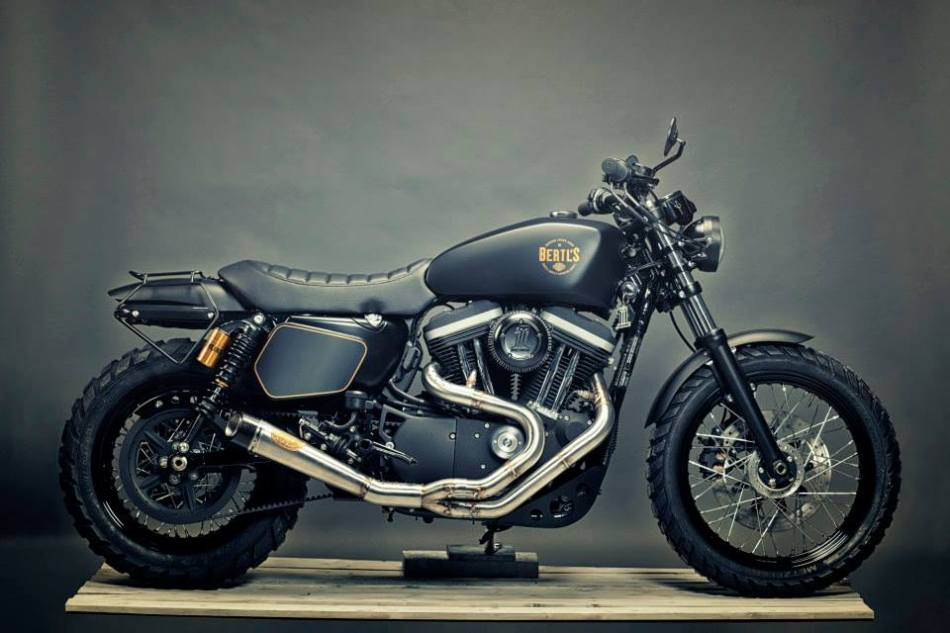 HD XL 1200 Scrambler by Renard Speed Shop