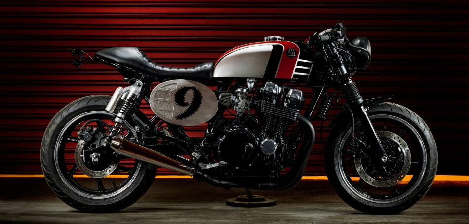 Spitfire ´09 Honda CB Seven Fifty by Macco Motors