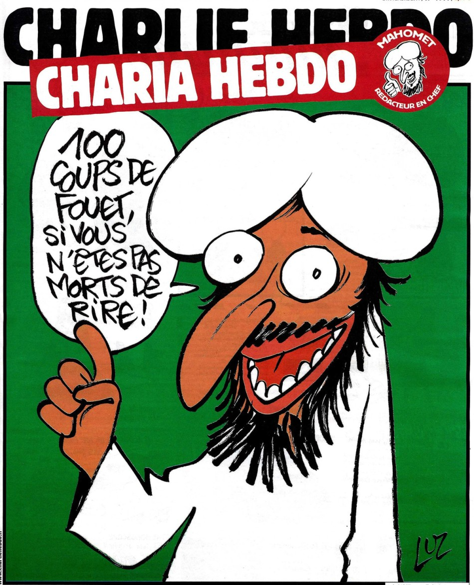 Charlie Hebdo charia