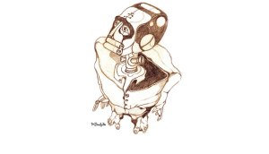 robo Frankenstein by Rodrigo Cambara