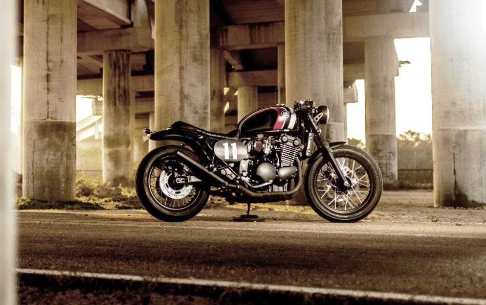 Triumph Legend TT The Hustler by Macco Motors