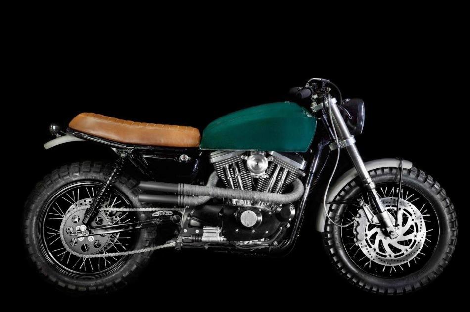 Harley Davidson Sportster H-1 by VDB Moto