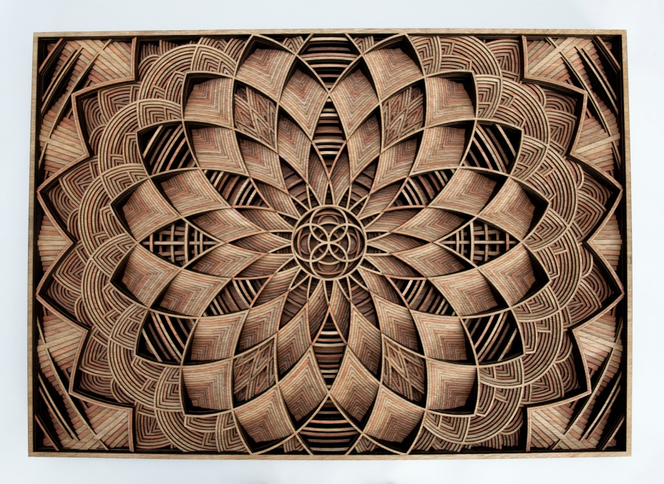 Untitled (Mandala 4) by Gabriel Schama