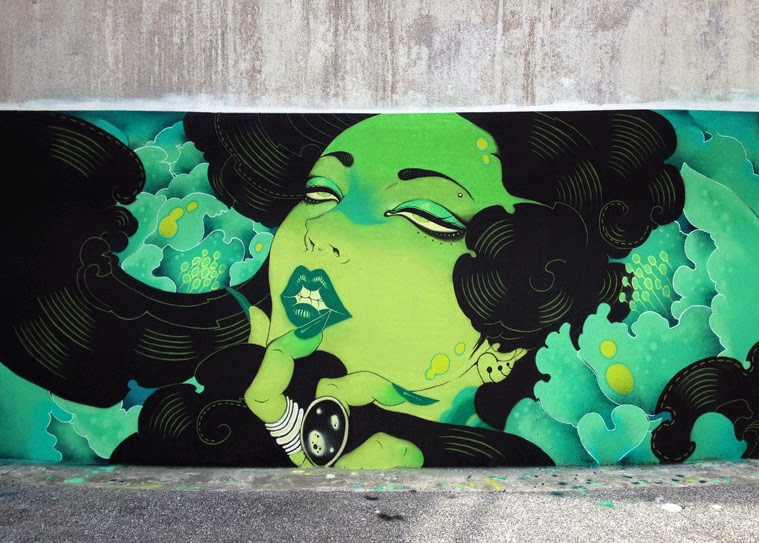 Wallpainting by Oneq