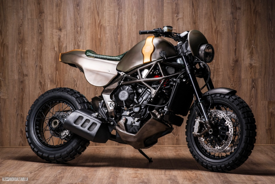 Untameable MV Agusta Rivale by Officine GP Design
