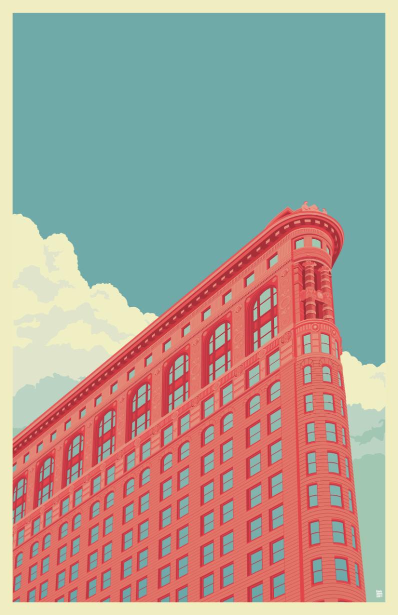 Flatiron Building NYC by Remko Heemskerk