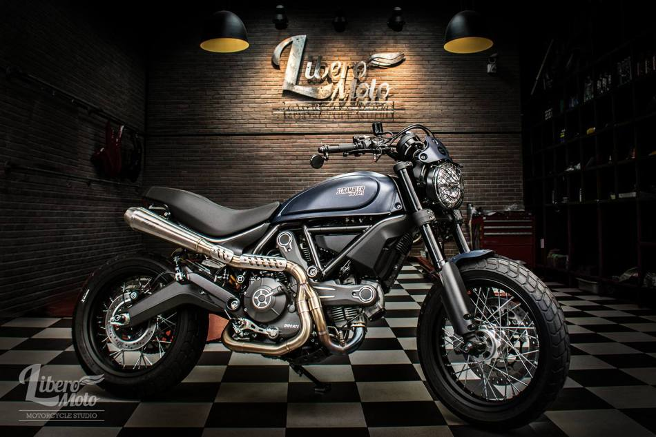 Ducati Scrambler Plug and Play by Libero Moto