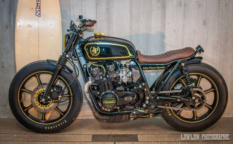 "Kawasaki Z 750 ""Black Monkey"" Special John Player Special Tribute by Laurent Monti"