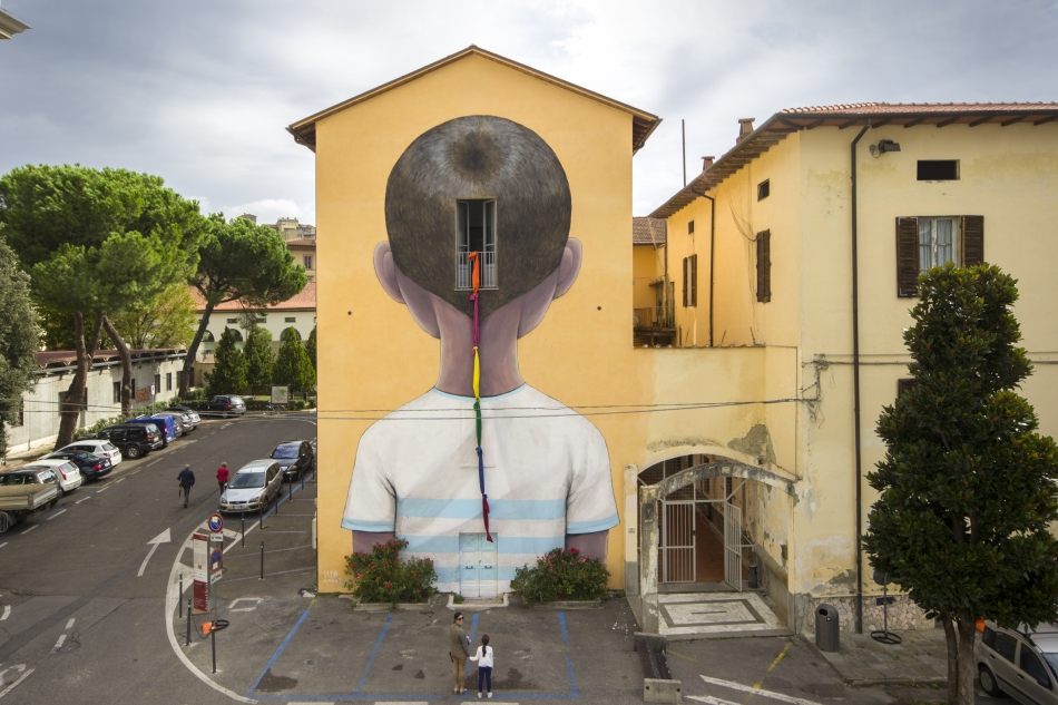 Escape by Julien Malland(aka Seth GlobePainter)