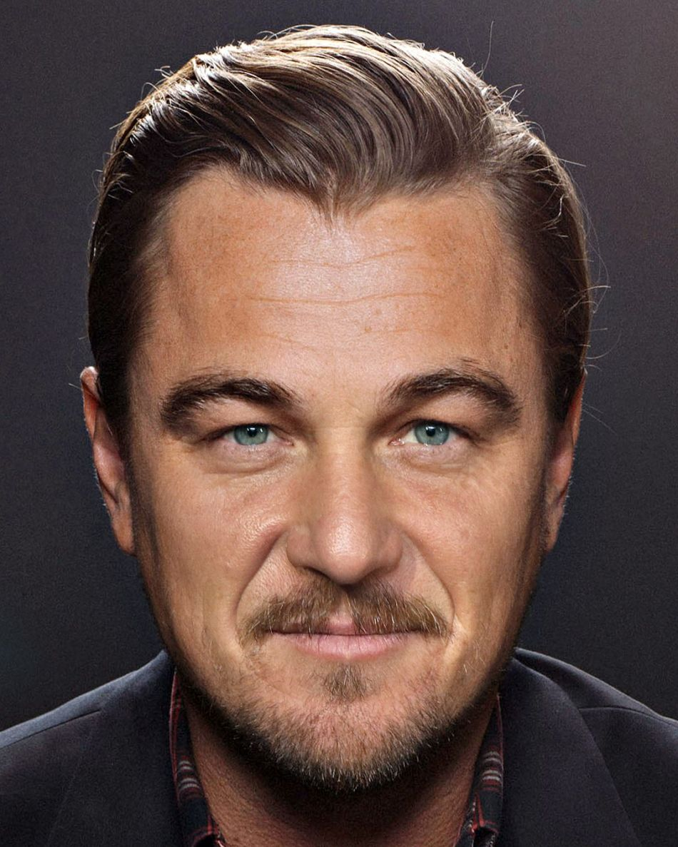 Sean Penn mixed with Leonardo DiCaprio by Gesichtermix