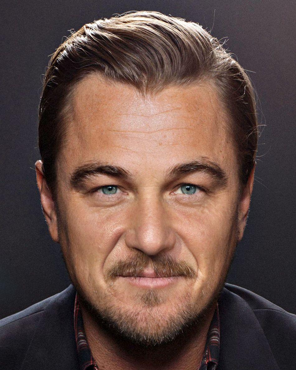 Sean Penn mixed with Leonardo DiCaprio by Gesichtermix