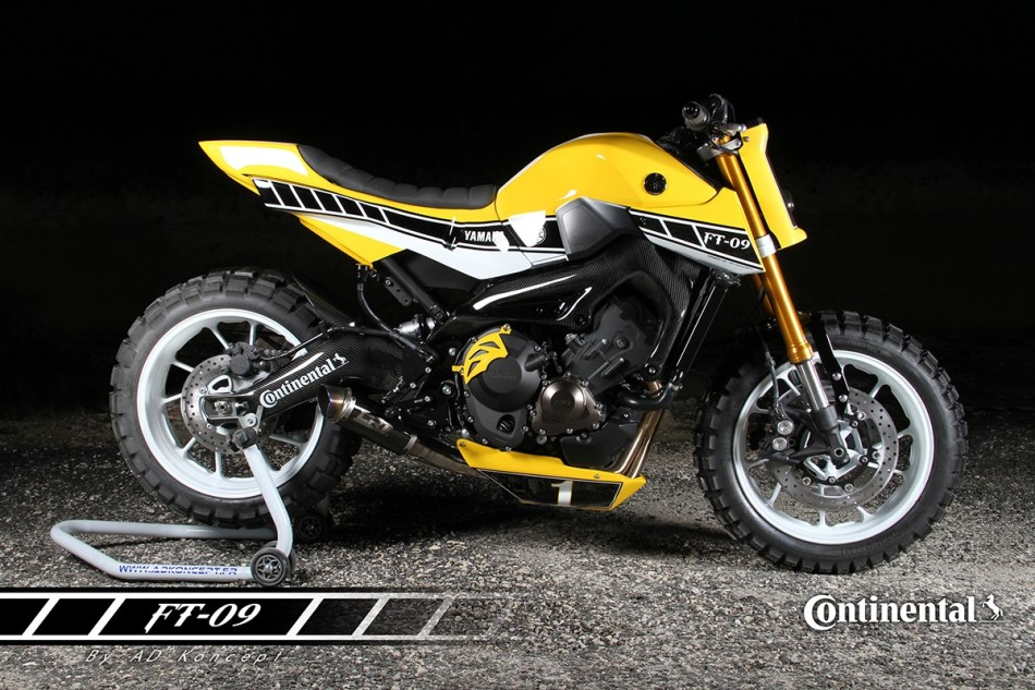 Yamaha MT-09 Flat Track by AD Koncept