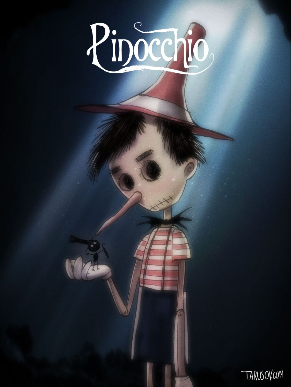 Pinocchio by Andrew Tarusov