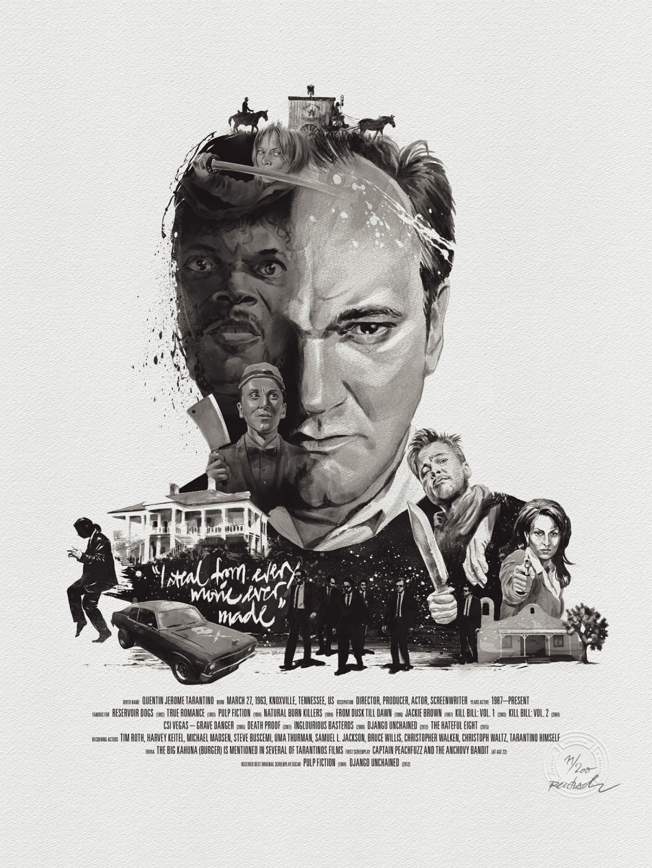 Quentin Tarantino by Stellavie & Julian Rentzsch