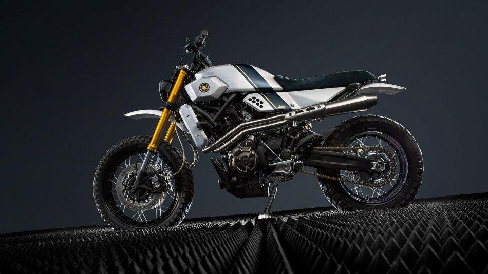 Yamaha XSR700 by Bunker Custom